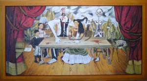 La mesa herida