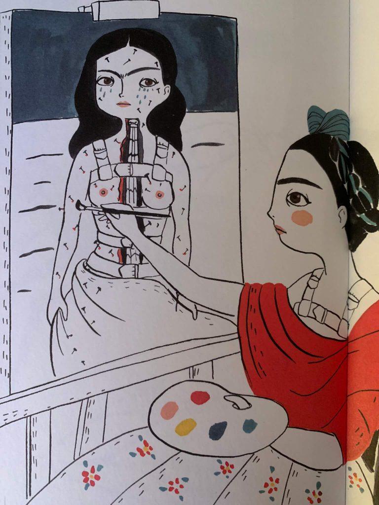 Frida Kahlo und ihre Wirbelsäule