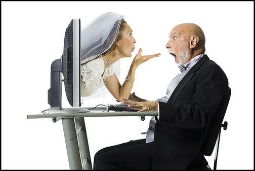 Überraschung beim Online Dating
