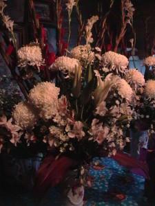 Blumen auf Huaquechulas Altar