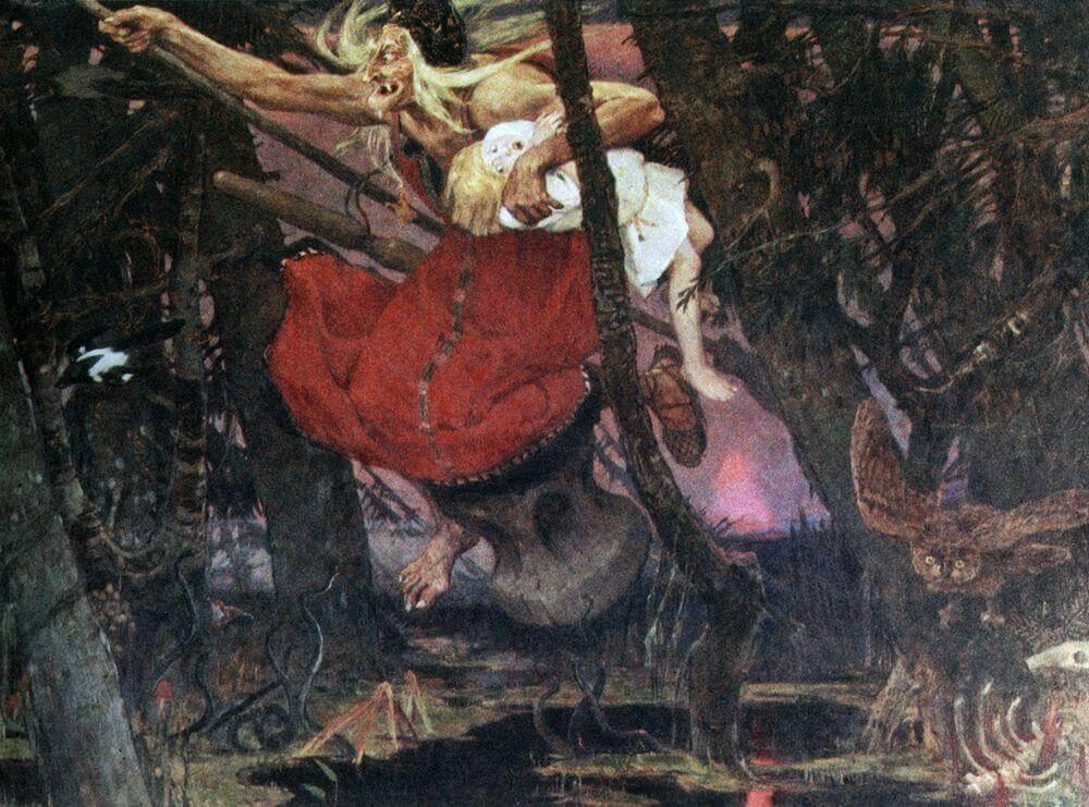 Baba Yaga von Viktor Vasnetsov