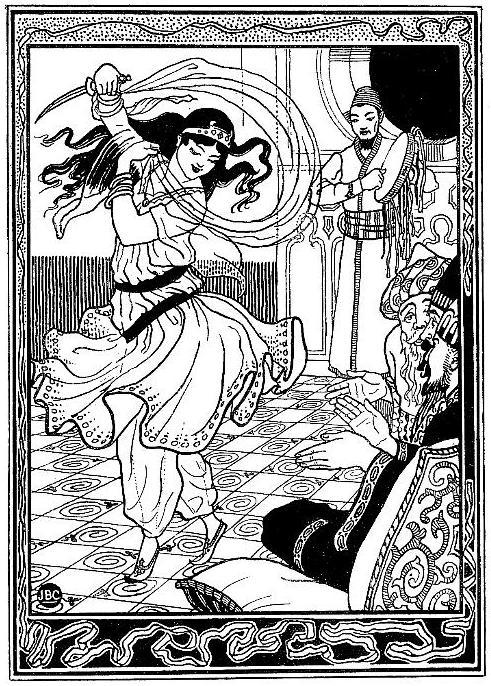 Tanzende Arabische Frau