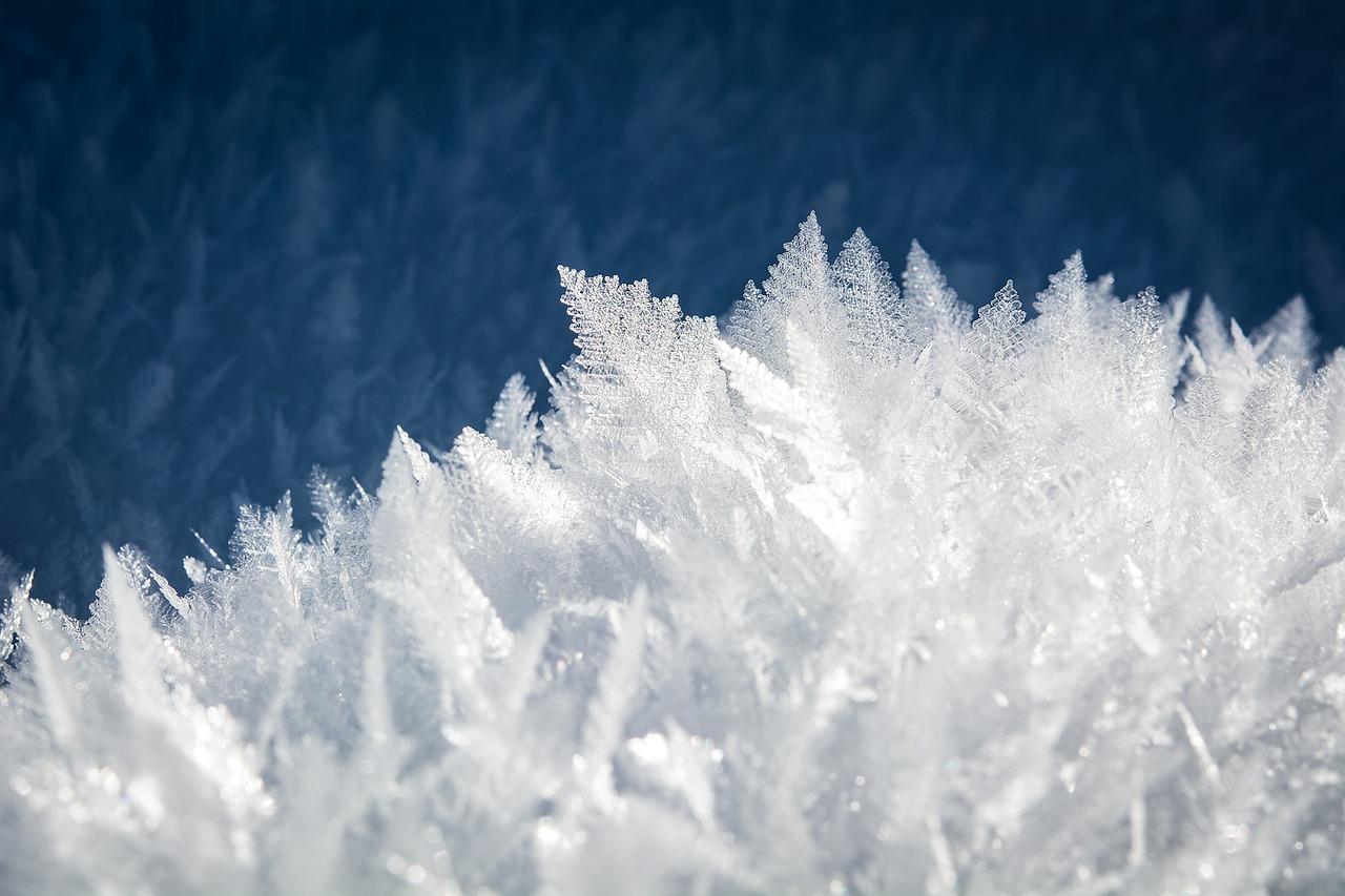 Schnee der Frau Holle