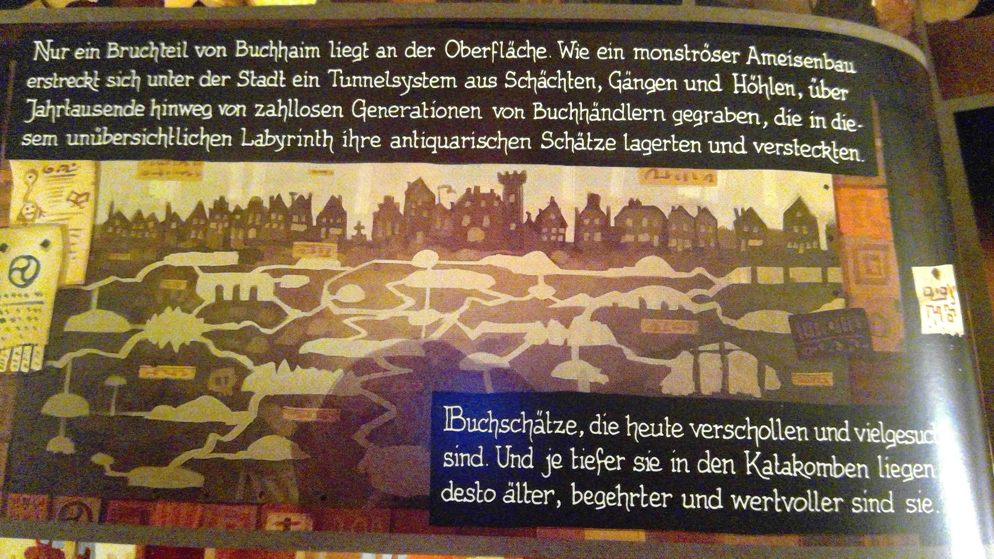Unterirdische Stadt von Buchhein
