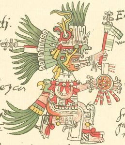 Sonnengott Huitzilopochtli