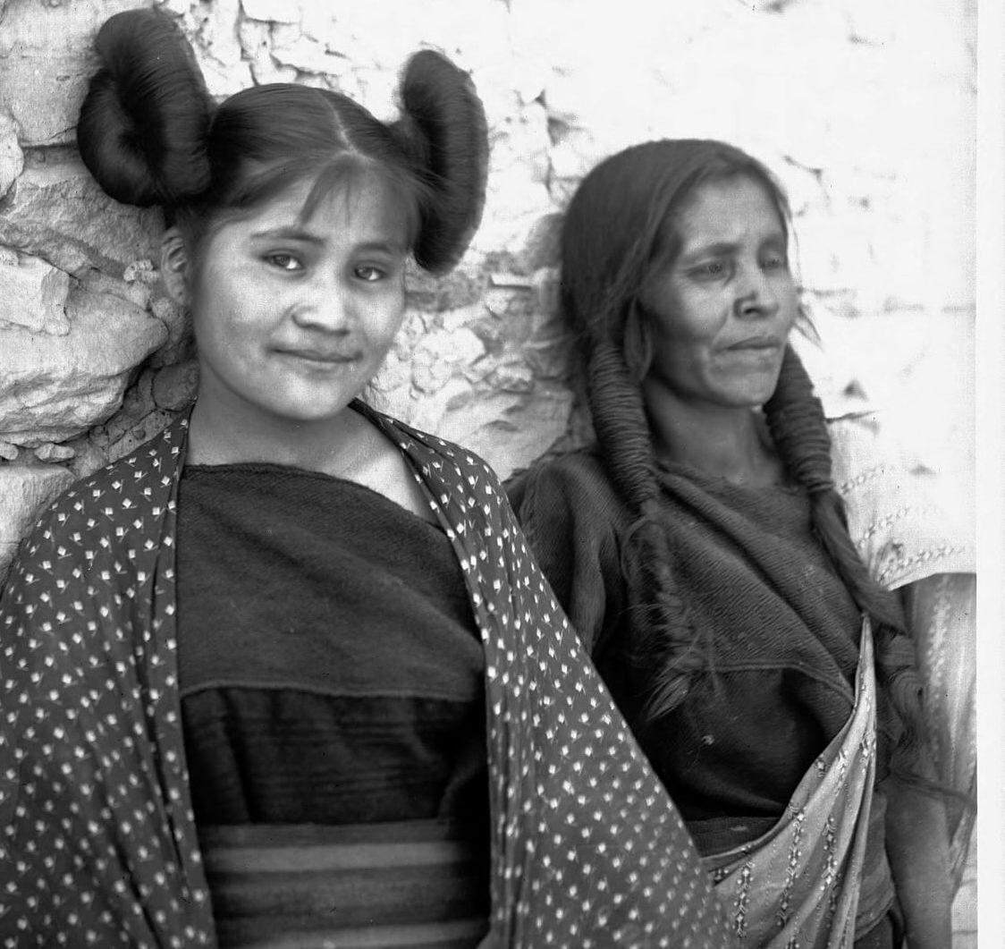 Hopi Indianerin: Sonnenblume