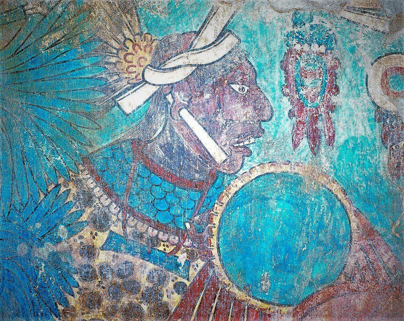 Jaguarkrieger Cacaxtla, Garde des Moctezuma