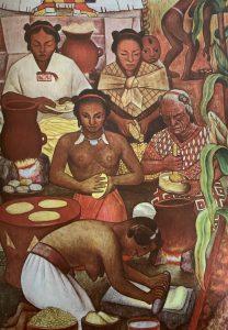 Die Produktion von Tortillas