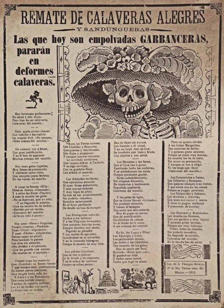 La Garbancer - Ursprung von La Catrina